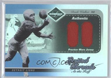 2003 Leaf Limited Limited Threads At The Half #LT-26 - Doak Walker /50
