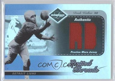 2003 Leaf Limited Limited Threads Position #LT-26 - Doak Walker /75