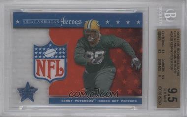 2003 Leaf Rookies & Stars - Great American Heroes #GAH-20 - Kenny Peterson /1325 [BGS9.5]