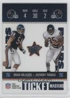 Brian Urlacher, Anthony Thomas /1325