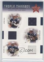 Tom Brady, Antowain Smith, Troy Brown /100
