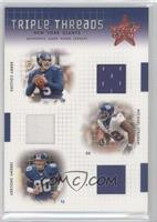 Kerry Collins, Michael Strahan, Jeremy Shockey /100