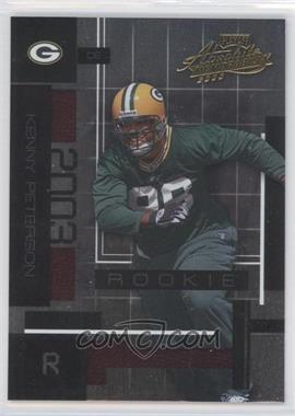 2003 Playoff Absolute Memorabilia #133 - Kenny Peterson /1100