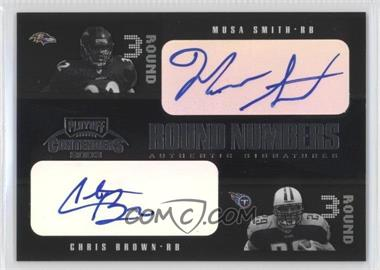 2003 Playoff Contenders Round Numbers Quads Autograph [Autographed] #RN-8 - Musa Smith /100