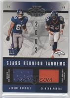 Jeremy Shockey, Clinton Portis /150