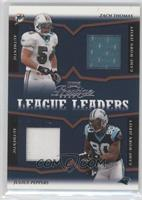Zach Thomas, Warren Sapp /25