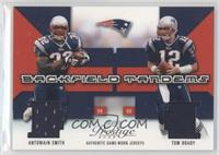 Antowain Smith, Tom Brady /400