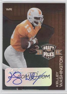 2003 Playoff Prestige Draft Picks Autographs #DP-13 - [Missing] /50
