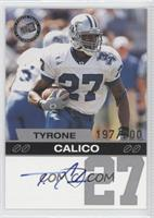 Tyrone Calico /200