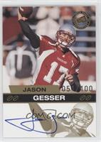 Jason Gesser /100