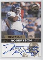Dewayne Robertson /100