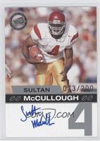 Sultan McCullough /200