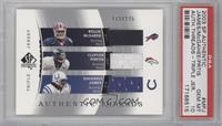 Clinton Portis, Willis McGahee, Edgerrin James /175 [PSA 10]
