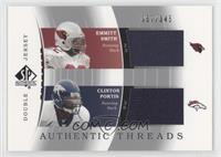 Emmitt Smith, Clinton Portis /345