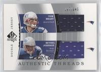 Tom Brady, Bethel Johnson /345