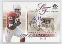 Bryant Johnson /25