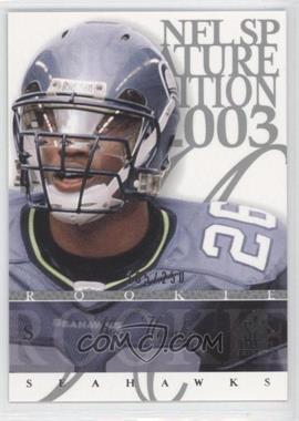 2003 SP Signature Edition [???] #175 - Ken Hamlin /250