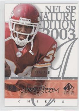 2003 SP Signature Edition #192 - Larry Johnson /250