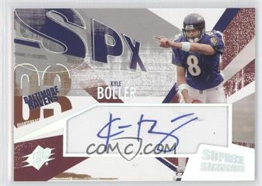 2003 SPx - Supreme Signatures #SS-BO - Kyle Boller