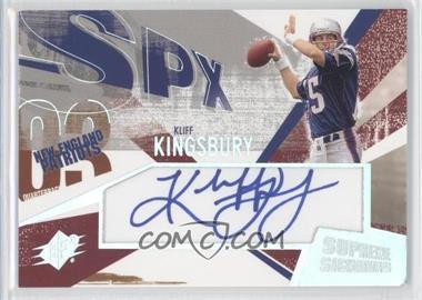 2003 SPx - Supreme Signatures #SS-KL - Kliff Kingsbury