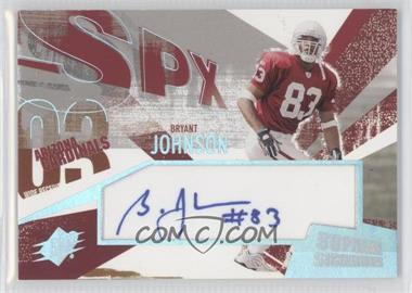 2003 SPx [???] #SS-BJ - Bryant Johnson
