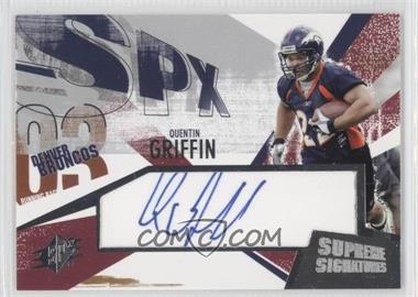 2003 SPx [???] #SS-OG - Quentin Griffin
