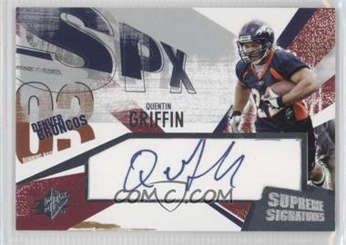 2003 SPx [???] #SS-QG - Quentin Griffin