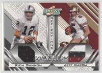 Rich Gannon, Jeff Garcia /250