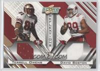 Terrell Owens, David Boston /250