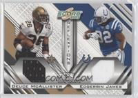 Deuce McAllister, Edgerrin James /250