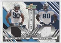 Jevon Kearse, Julius Peppers /250