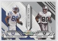 Marvin Harrison, Jerry Rice