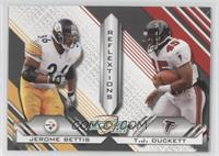 Jerome Bettis, T.J. Duckett