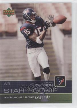 2003 Star Rookie Sportsfest - [Base] #AJ - Andre Johnson