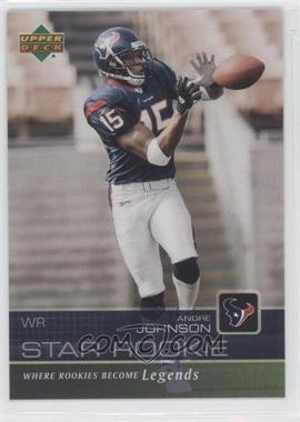 2003 Star Rookie Sportsfest - [Base] #AJ - Andre Johnson