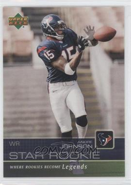 2003 Star Rookie Sportsfest #AJ - Andre Johnson