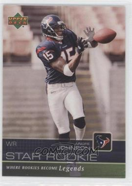 2003 Star Rookie Sportsfest #AJ - Andre Johnson