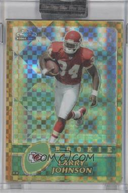 2003 Topps Chrome Gold X-Fractor #220 - Larry Johnson /101