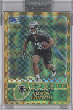 2003 Topps Chrome Gold X-Fractor #267 - Justin Griffith /101