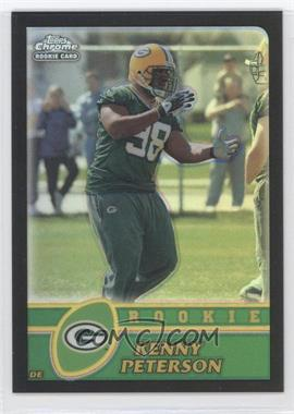 2003 Topps Chrome Refractor #270 - Kenny Peterson /100