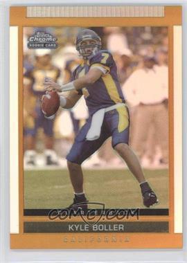 2003 Topps Draft Picks & Prospects - [Base] - Chrome Gold Refractor #113 - Kyle Boller