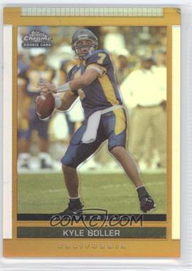 2003 Topps Draft Picks & Prospects - [Base] - Chrome Gold Refractor #113 - Kyle Boller