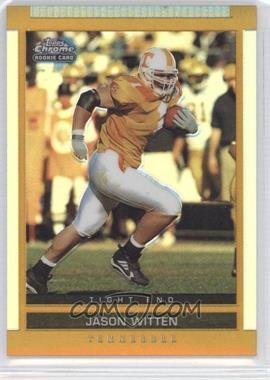 2003 Topps Draft Picks & Prospects - [Base] - Chrome Gold Refractor #127 - Jason Witten