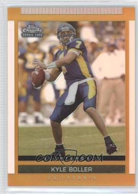2003 Topps Draft Picks & Prospects Chrome Gold Refractor #113 - Kyle Boller
