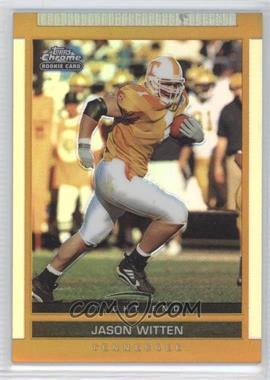 2003 Topps Draft Picks & Prospects Chrome Gold Refractor #127 - Jason Witten