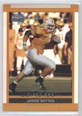 2003 Topps Draft Picks & Prospects Chrome Gold Refractor #127 - Jason Witten
