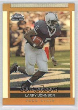 2003 Topps Draft Picks & Prospects Chrome Gold Refractor #131 - Larry Johnson