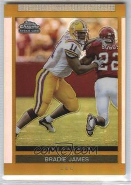 2003 Topps Draft Picks & Prospects Chrome Gold Refractor #154 - Bradie James