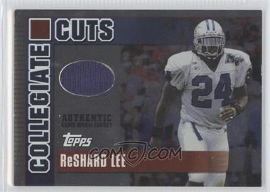 2003 Topps Draft Picks & Prospects Collegiate Cuts Foil #CC-RL - ReShard Lee