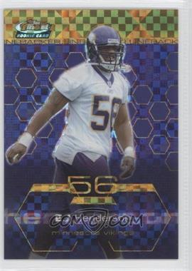 2003 Topps Finest Gold X-Fractor #97 - E.J. Henderson /175